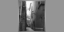Ulička vo Francúzsku, obraz tlačený