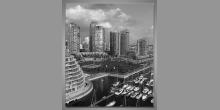 Vancouver-Kanada, digitálne tlačený obraz