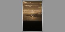 Za oblakmi, obraz digitálne tlačený
