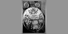 Digitálne tlačený obraz, Gitara-detail