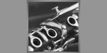 Flauta-detail. obraz digitálne tlačený