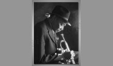 Jazzman, digitálne tlačený obraz