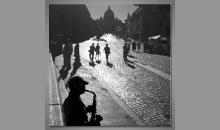 Pohľad do mesta, obraz digitálne tlačený