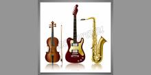 Skupina nástrojov, obraz tlačený